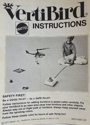 VertiBird Instruction Manual