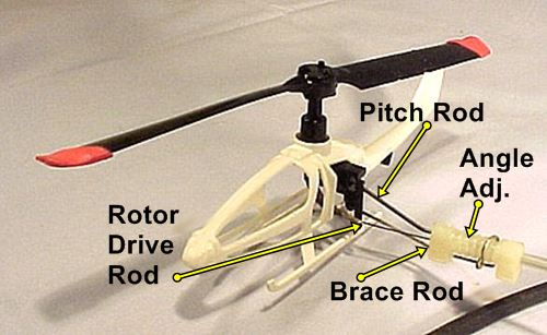 VertiBird Helicopter Control Components