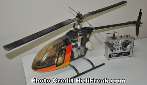 Vintage RC Helicopter