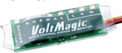 The VoltMagic Will Check The Quality Of Your RC Receiver Power Supply Voltage & Current.