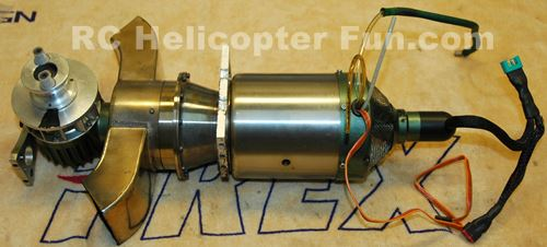 RC Helicopter Jet Turbine Engine