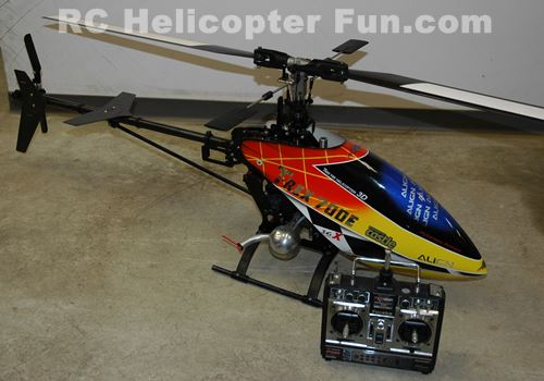 X-Cell 40 With Trex 700E Canopy & RC Helicopter History