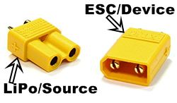 XT30 RC LiPo Connectors