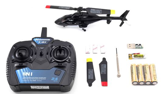 ESky Airwolf F150 V2 RTF Package