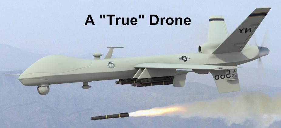A True Aerial Drone