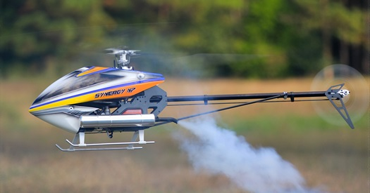 Synergy N7 Nitro RC Helicopter