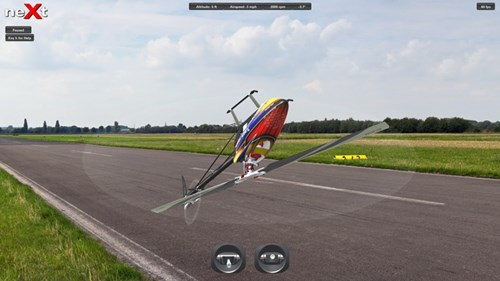 neXt RC Helicopter Simulator Screen Shot