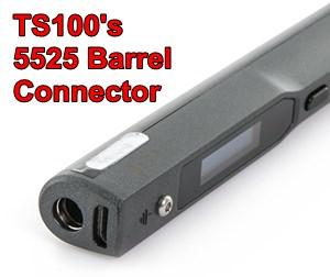 TS100 Soldering Iron 5525 Barrel Power Connector