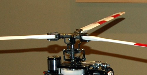 3 Bladed Bell Rotor Head