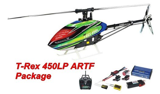 Align Trex 450LP ARTF Beginner Collective Pitch RC Helicopter