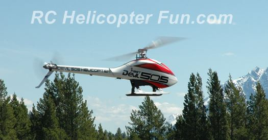 Electric RC Helicopters Are Clean & Powerful