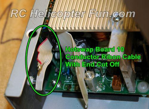 DPS 600PB Hot Swap Ribbon Cable Location
