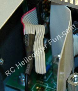 DPS 600PB Hot Swap Ribbon Cable Heat Shrink Application