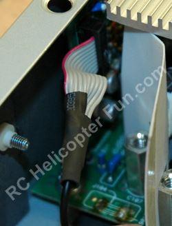 DPS 600PB Ribbon Cable Heat Shrink Application