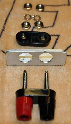 4mm Dual Terminal Mounting Bracket