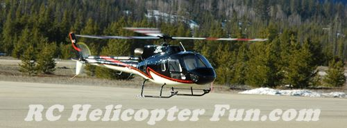 Big 700 Super Scale AS350 Hovering Rock Solid!