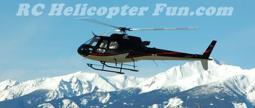Roban 700 Compactor Super Scale AS350 RC Helicopter