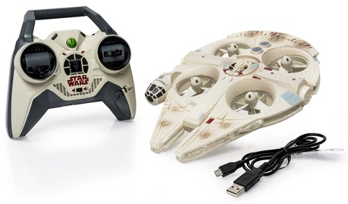 Air Hogs Millennium Falcon Toy Quadrotor