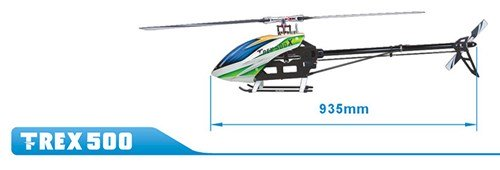 Align Helicopters T-Rex 500X