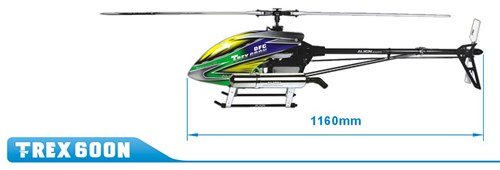 Align Helicopters T-Rex 600N