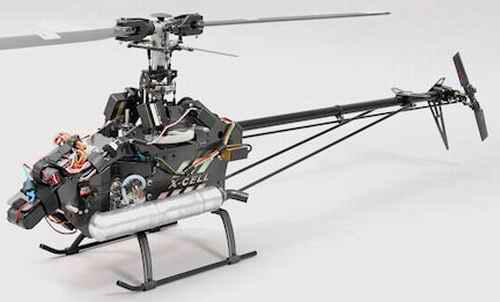 Aluminum RC Helicoper Frames