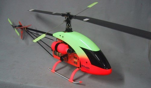 Bergen RC Intrepid 44 Magnum - A low cost turbine RC Helicopter