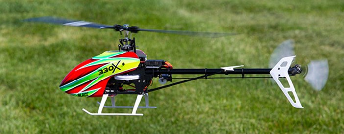 Blade 330X Small RC Helicopter Size Class