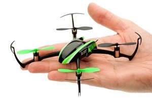 Small Beginner Quad Copter Fits In Palm Of Hand