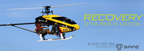 Blade 200 SRX Fixed Pitch Radio Controlled Helicopter