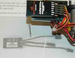 CX3 Remote Gain Wire