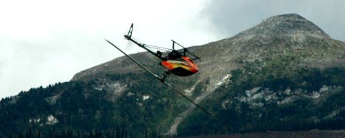 Collective Pitch RC Helicopters Can Fly Inverted & Can Handle Higher Winds