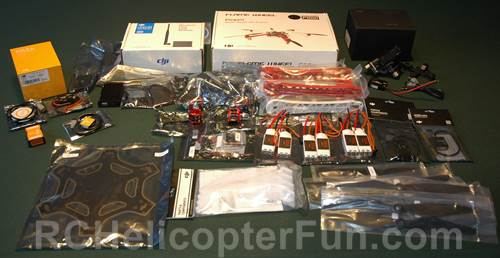 FPV DJI F550 Combo Kit - Can't Wait To Start Assembly