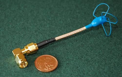 5.8 GHz Circular Polarized FPV Antenna Is Nice & Small