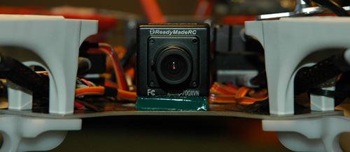 FPV RC Camera Simply Mounted With Zeal Gel Tape