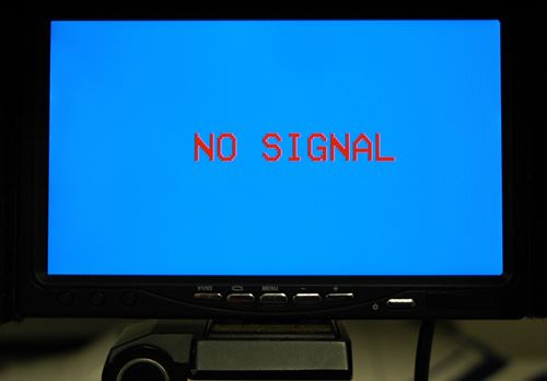 Auto Blue Screen Monitor - Not a Good Choice For FPV