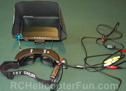 FPV Ground Station With Goggles & Monitor