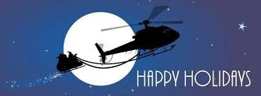 Image result for happy holidays helicopter