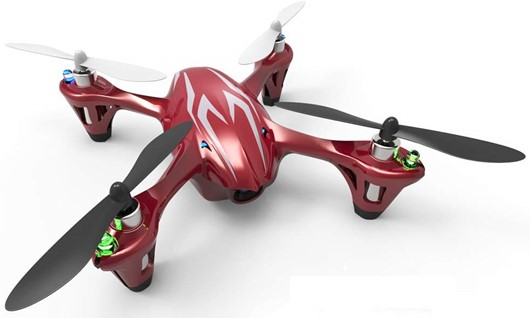 The Hubsan H107C is a very popular quadcopter for children & beginners alike.