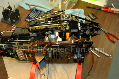 Intrepid Turbine RC Helicoper Yearly Tear Down & Inspection