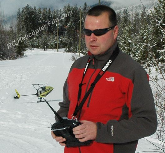Low Cost Micro CP RC Helicopter Hovering Inverted - As Challenging As The Big Ones