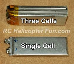 RC LiPo Battery Foil Pouches