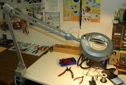 Magnifying Work Lamp