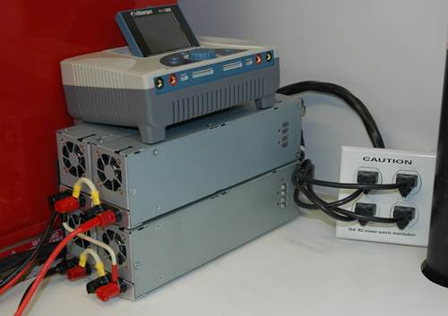 Four 2ZO-RC Power Supplies in 2x2 configuration