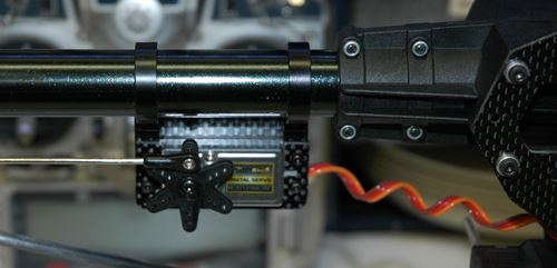 Phoenixtech 600ESP Tail Servo Placement