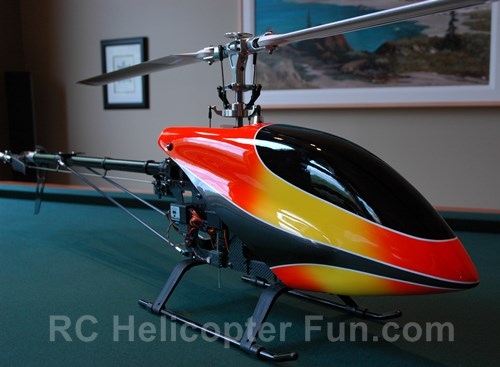 600 ESP Flybarless RC Helicopter