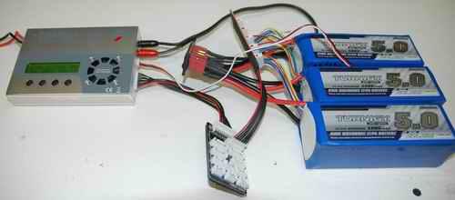 Charging Three 6S 5000 mAh LiPo Packs In Parallel
