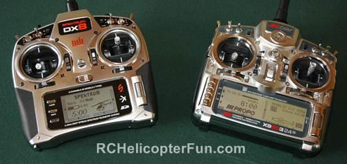 Computerized RC Radios