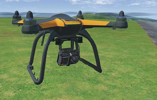 RC Flight Simulator Quadcopter