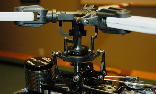 Super Scale DFC Rotor Head