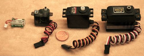 RC Servo Sizes